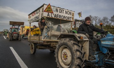 Photoreportage : nouvelles manifestations contre l'aéroport de Notre-Dame-des-Landes