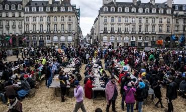 Photoreportage : manifestation violente à Rennes pour lutter contre l'aéroport de Notre-Dame-des-Landes