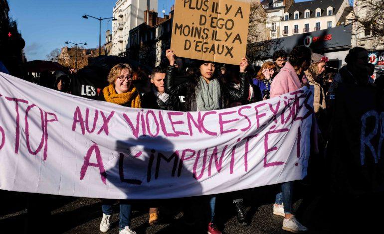 PHOTOREPORTAGE. À Rennes, 900 personnes contre les violences sexuelles et sexistes