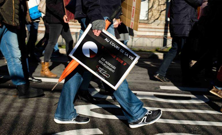 """"""" Au cours de sa vie 1 femme sur 7  est agressée sexuellement"""". © Malika Barbot / Worldzine"""